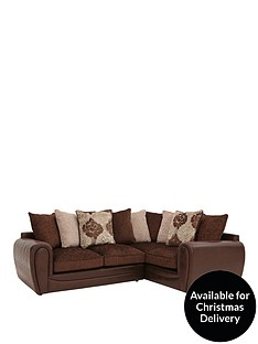 monico-floral-right-hand-double-arm-corner-group-sofa