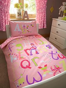ladybird-alphabet-girls-toddler-single-quilt-cover-and-pillowcase-set