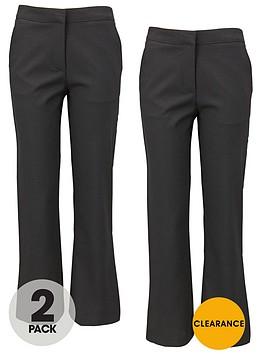 top-class-girls-woven-school-uniform-trousers-2-pack