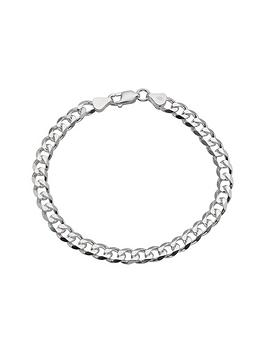 the-love-silver-collection-silver-12-oz-mens-curb-bracelet