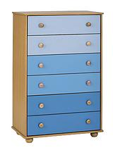Metro Chest of 6 Drawers