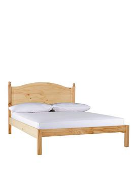 york-solid-pine-bed-frame-with-optional-mattress
