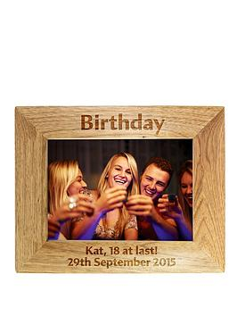 personalised-birthday-wooden-frame