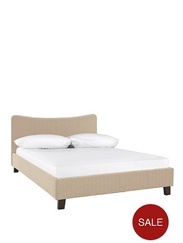 curve-fabric-bed-frame