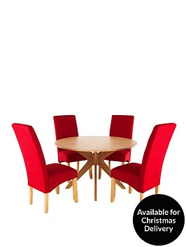 starburst-120cm-table-with-4-scarlet-chairs