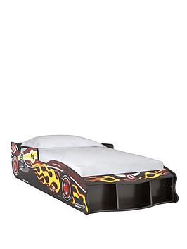 kidspace-nitro-car-bed-frame-with-optional-mattress