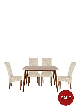 charles-120-cm-table-4-brook-floral-fabric-chairs