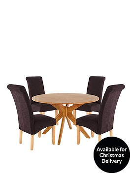starburst-120-cm-round-dining-table-4-brook-plain-fabric-chairs-buy-and-save
