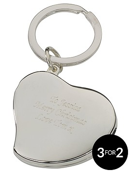 personalised-heart-photo-keyring