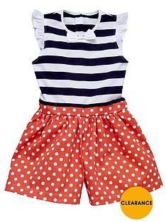 ladybird-girls-stripe-spot-jersey-and-woven-playsuit