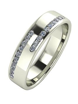 love-diamond-9-carat-white-gold-25-point-diamond-5mm-cushion-court-wedding-band