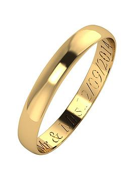 love-gold-personalised-9-carat-yellow-gold-d-shaped-wedding-band-3mm