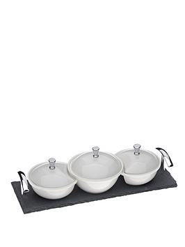 arthur-price-kitchen-set-of-3-covered-dishes-on-a-slate-base