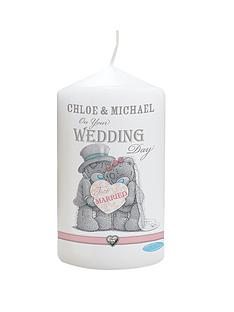 me-to-you-personalised-wedding-candle