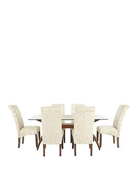 knox-180-cm-dining-table-6-floral-fabric-brook-chairs