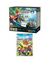 Mario Kart 8 Hard Bundle + Mario Party 10 + Wii U Pro Controller & Wii U Wheel