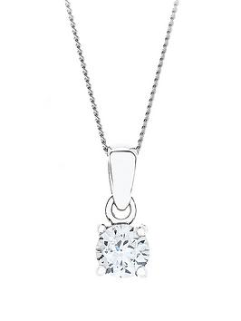 love-diamond-9-carat-white-gold-50-point-diamond-solitaire-pendant