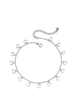 the-love-silver-collection-sterling-silver-floating-heart-ankle-chain