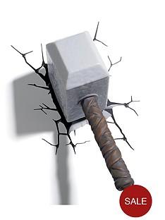 marvel-3d-wall-light-thor-hammer