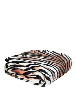 catherine-lansfield-animal-print-raschel-throw-tiger