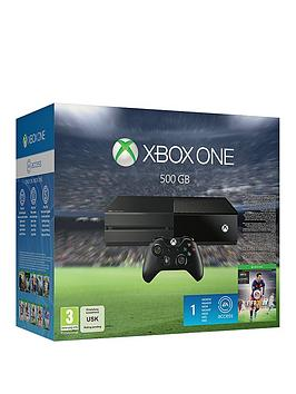 xbox-one-500gb-console-with-fifa-16-with-optional-12-months-xbox-live-andor-controller