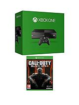 500Gb Console with Call of Duty: Black Ops 3 and Optional 3 or 12 Months Xbox Live