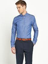 Mens Coloured Denim Shirt