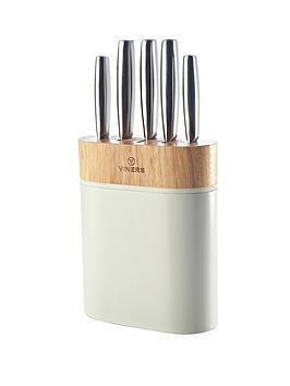 viners-arc-5-piece-knife-block-set