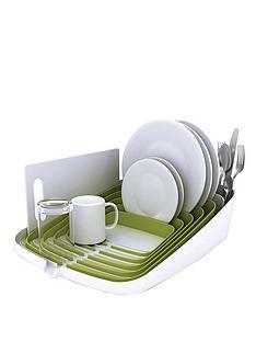 joseph-joseph-arena-dish-drainer-whitegreen