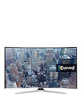 UE55J6300AKXXU 55 inch Curved Full HD, Smart TV - Black