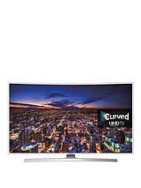 UE40JU6510UXXU 40 inch Curved UHD 4K HD Smart TV - White