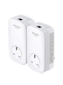 tp-link-av1200a-gigabit-passthrough-powerline-starter-kit