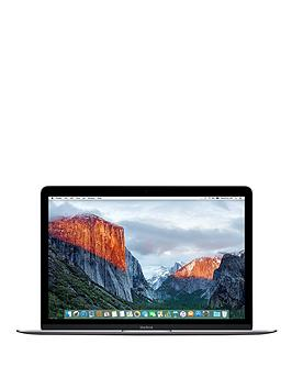 apple-macbook-12quot-intelreg-coretrade-m5-8gb-ram-512gb-flash-storage-with-optional-ms-office-365-home-space-grey