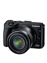 EOS M3 Camera with EF-M 18-55mm Lens