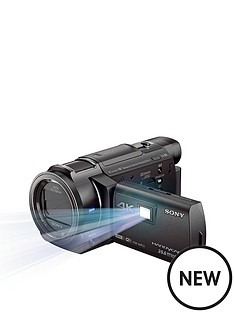 sony-fdr-axp33-4k-handycam-camcorder-with-built-in-projector