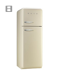 smeg-fab30rfc-60cm-fridge-freezer-cream