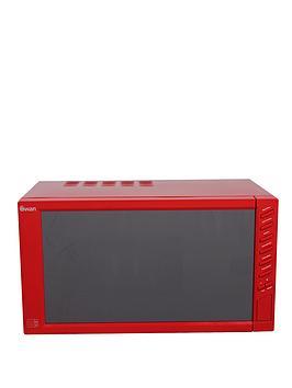 swan-sm22050r-800-watt-23-litre-mirror-door-microwave-red