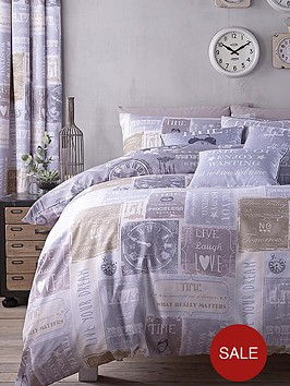 catherine-lansfield-a-timely-reminder-bedding-range