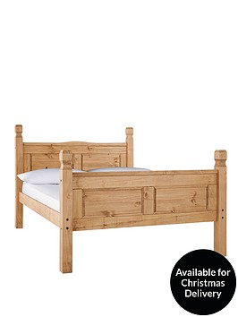 corona-high-foot-end-bed-frame-with-optional-mattress