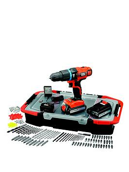 black-decker-egbl188bast-gb-18-volt-lithium-ion-combi-hammer-drill-with-2-batteries-165-accessories-and-kitbox
