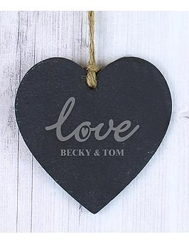 personalised-love-slate-heart