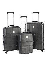 Finlay 3-Piece Luggage Set - Charcoal