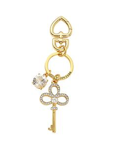 juicy-couture-gold-tone-crystal-set-key-fob