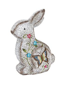 stone-effect-sitting-rabbit-garden-ornament