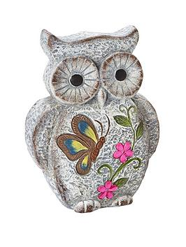 stone-effect-owl-garden-ornament