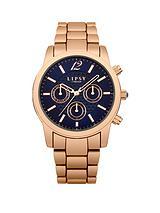 Rose Gold Tone Bracelet Ladies Watch