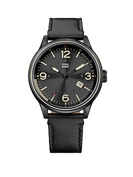 tommy-hilfiger-classic-3-hand-black-dial-black-ip-bracelet-mens-watch