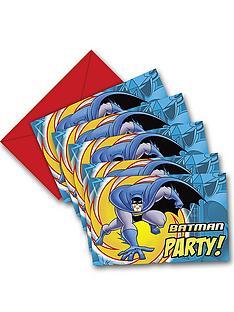 batman-party-invitations-pack-of-18