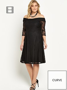 v-by-very-curve-lace-bardot-skater-dress