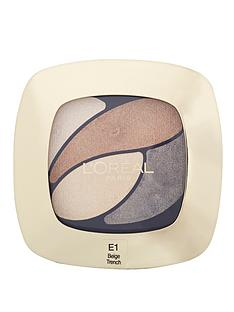 loreal-paris-color-riche-eyeshadow-quad-e1-beige-trench